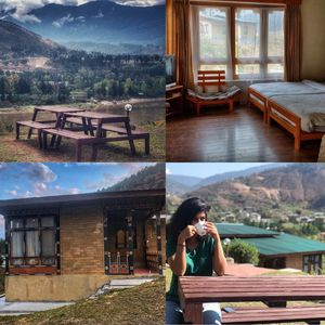 The cottage that took my breath away - Punatsangchhu Cottages at Bhutan #summerescape