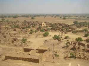 Forgotten Village in Jaisalmer, Kuldhara Village and Khaba Fort