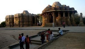 Visit to Sun Temple, Modhera