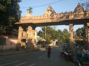 """Belur math"" a historical place to visit in Kolkata."