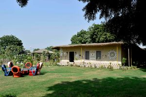 Head To This Farm Stay Near Gurgaon For Its Luxury Huts, Wine Brunches and Aww-dorable Pets!