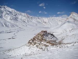 Spiti Valley Just Received The Season's First Snowfall And The Pictures Are Mesmerising