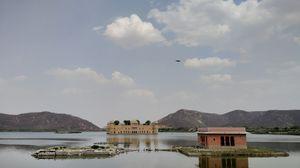 Title : Jal Mahal, Jaipur #BestTravelPictures Theme: Landscape