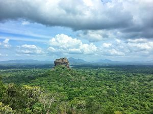 Sigiriya Rock presents a unique concentration of fifth-century urban planning  #BestTravelPictures