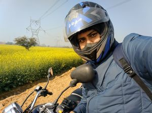 A ride through Gurgaon-Farukhnagar road- Tale of Sultanpur bird sanctury and vast mustard land...