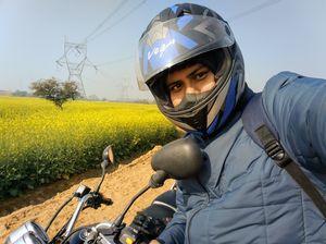 A ride through Gurgaon-Farukhnagar road- Tale of Sultanpur bird sanctury and vast mustard land...