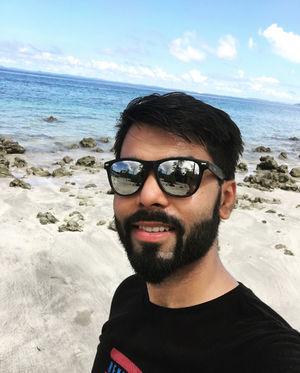 Elephanta Beach, Havelock Islands, 2018. #selfieWithAView #tripotocommunity