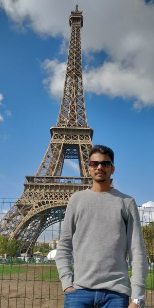 With love from Eiffel Tower, Paris