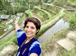When nature and hardwork come together! #SelfieWithAView #TripotoCommunity