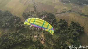 Paragliding Session in Bodoland