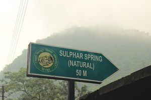 Sulphur Water Spring: Sahasradhara (The Thousand Fold Springs)