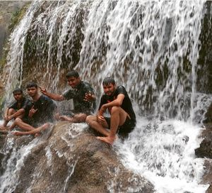 Sulphur Water Spring: Sahasradhara (The Thousand Fold Springs)