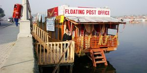 India's Most Unusual Post Office: Floating Post Office