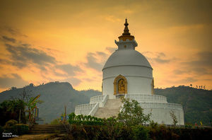 From Pokhara to Sarangkot, Nepal