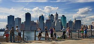 Manhattan Skyline 1/2 by Tripoto