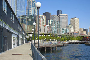 Seattle WaterFront Arcade 1/2 by Tripoto