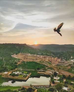 Watch tower of Amer Fort