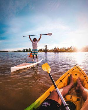 Kayaking in Mangalore!