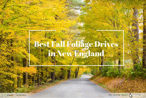 BEST FALL FOLIAGE DRIVES IN NEW ENGLAND