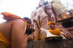 A lifetime once affair at shravanabelagola