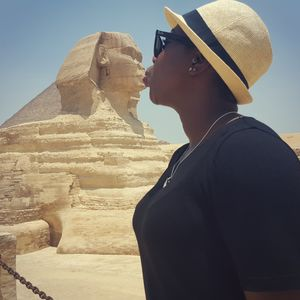 I kissed a sphinx and I liked it