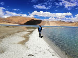 Keep it fresh, keep it raw. Had we just said Mother Nature's law ???? !!! #tripotoCommunity #Pangong