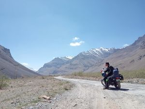Motorcycle diaries , conquering Spiti Valley !