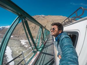 Off Roading at Spiti Valley! #SelfieWithAView  #TripotoCommunity