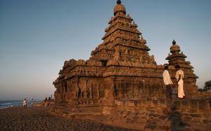 Tranquility At It's Best - Mahabalipuram