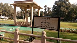 Place of mahatma Gandhi martydom