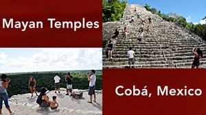 The Mayan Temples of Cobá, Mexico