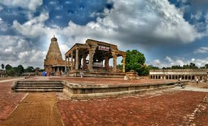 World lost in time - Big Temple Thanjavur