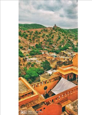 Mesmerizing view from Amer fort, Jaipur.