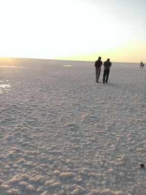 At the white salt desert ..banjara style