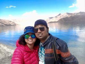 #SelfieWithAView #TripotoCommunity #Pangong #IncredibleIndia