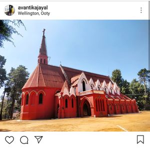 St. George Church in Wellington, Ooty.