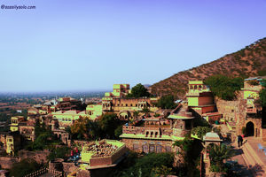 The magnificence of Neemrana Fort Palace