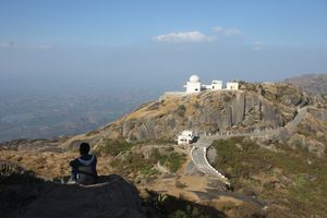 Mount Abu - A hill station amidst the vast dessert.