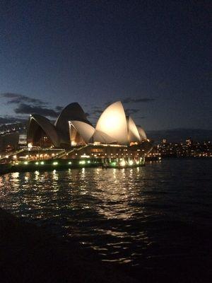 Sydney Opera by Night