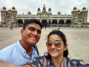 Mysore palace!! #SelfieWithAView #TripotoCommunuty