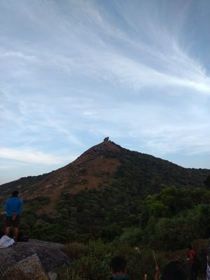 Velliangiri hills-Kailash of South India
