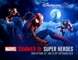 Hero Up! The Marvel Universe Is Coming Alive At Disneyland Paris This Year