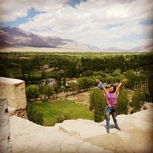 How I traveled free to Ladakh!