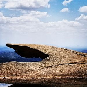 It is an amazing hill top view ...