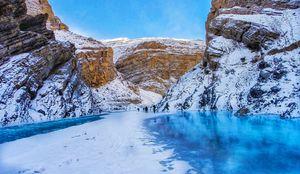 Spending some quality time at -25°C on frozen Zanskar!! Chadar Trek Moments, 2019.