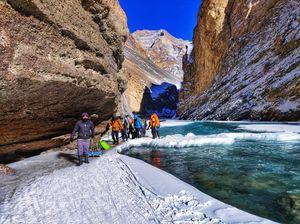 Chadar-Frozen River Trek: A Walk to Remember