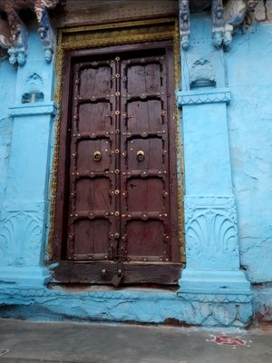 Jodhpur the bluecity-walking through the blue lanes