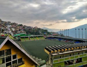 Paljor Stadium: Most beautiful Football Stadium in India!