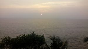 An evening at  Varkala Cliff