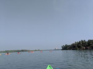 Exploring River Shambhavi - 25 km kayaking at Mulki adventure club (@mulki.in), Mangalore